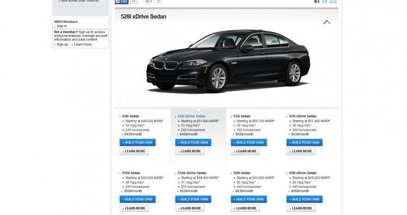 Update1 - Road Test Review - 2013 BMW 535i M Sport RWD - Buyers Guide to Trims and Cool Options 2