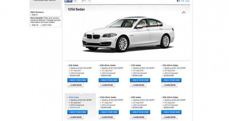Update1 - Road Test Review - 2013 BMW 535i M Sport RWD - Buyers Guide to Trims and Cool Options 5