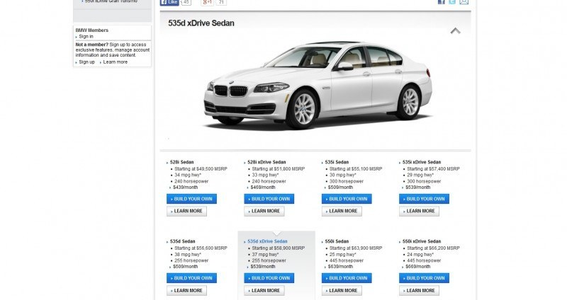 Update1 - Road Test Review - 2013 BMW 535i M Sport RWD - Buyers Guide to Trims and Cool Options 6