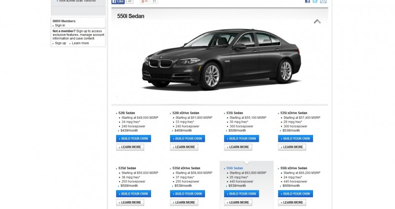 Update1 - Road Test Review - 2013 BMW 535i M Sport RWD - Buyers Guide to Trims and Cool Options 7