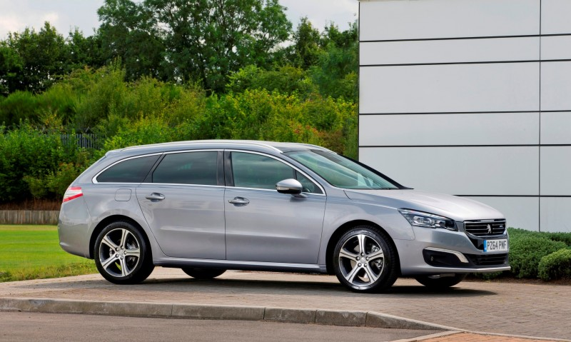Update2 New Photos - 2015 Peugeot 508 Facelifted With New LED DRLs, Box-Design Beams and Tweaked Cabin Tech 1