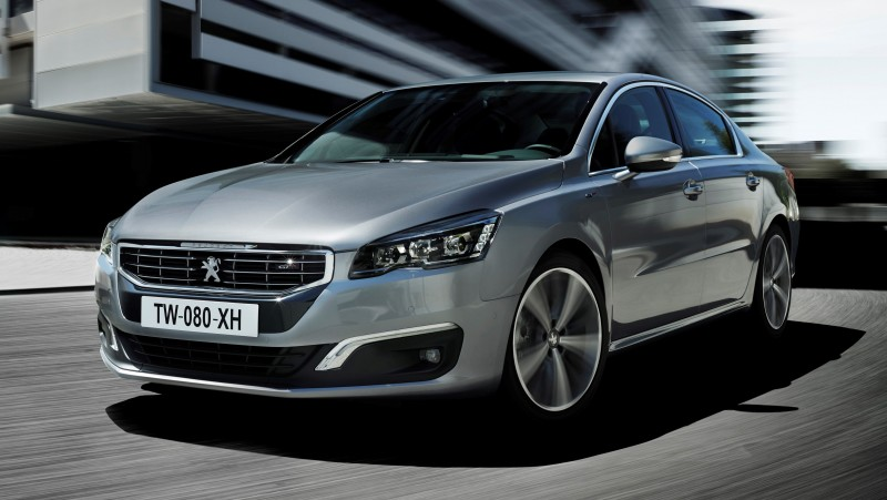 Update2 New Photos - 2015 Peugeot 508 Facelifted With New LED DRLs, Box-Design Beams and Tweaked Cabin Tech 15
