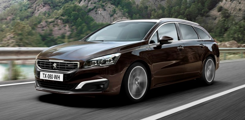 Update2 New Photos - 2015 Peugeot 508 Facelifted With New LED DRLs, Box-Design Beams and Tweaked Cabin Tech 28