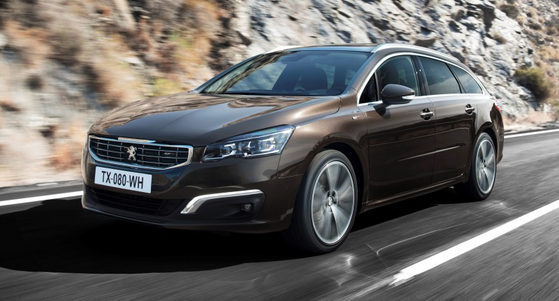 Update2 New Photos - 2015 Peugeot 508 Facelifted With New LED DRLs, Box-Design Beams and Tweaked Cabin Tech 30