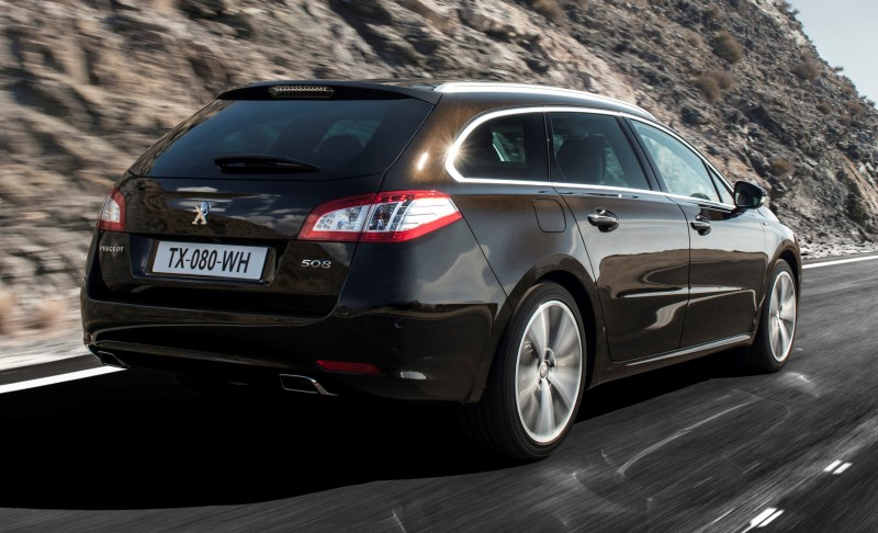 Update2 New Photos - 2015 Peugeot 508 Facelifted With New LED DRLs, Box-Design Beams and Tweaked Cabin Tech 31