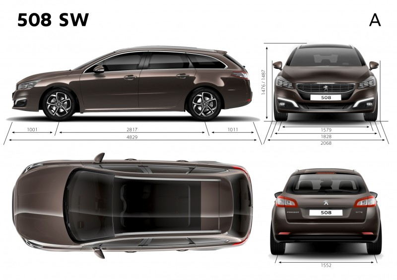 Update2 New Photos - 2015 Peugeot 508 Facelifted With New LED DRLs, Box-Design Beams and Tweaked Cabin Tech 33