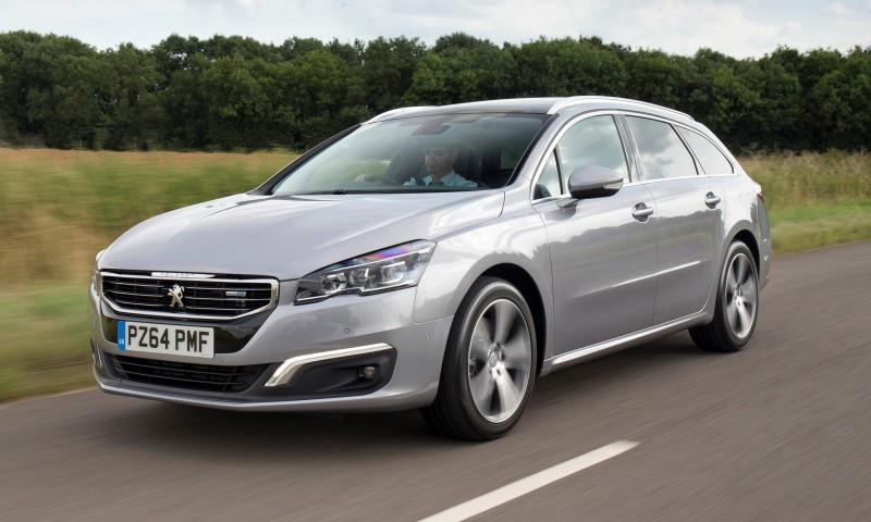 Update2 New Photos - 2015 Peugeot 508 Facelifted With New LED DRLs, Box-Design Beams and Tweaked Cabin Tech 4