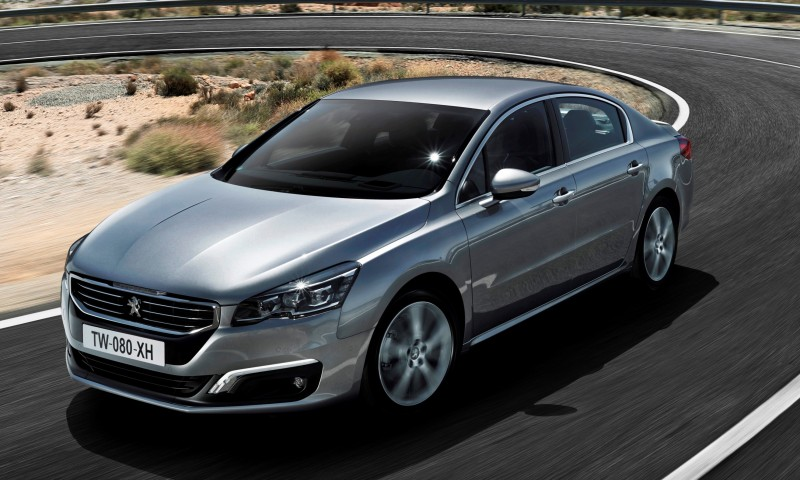 Update2 New Photos - 2015 Peugeot 508 Facelifted With New LED DRLs, Box-Design Beams and Tweaked Cabin Tech 8