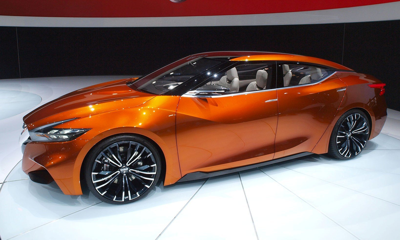 Updated - 2014 Nissan Sports Sedan Concept Brings 3.5-in ...