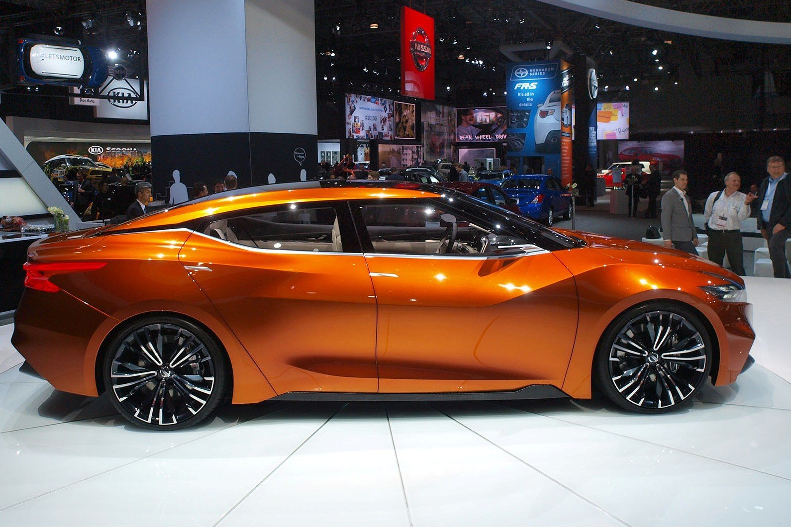 Updated 2014 Nissan Sports Sedan Concept Brings 3 5 In