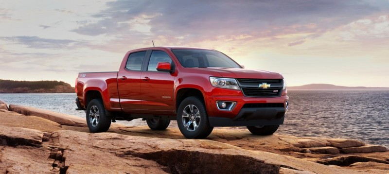 Updated With Pricing and Colors - 2015 Chevrolet Colorado Z71 Brings Cool Style, Big Power 1