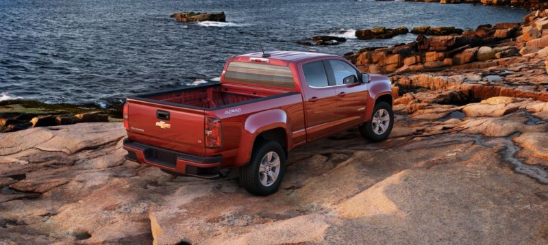 Updated With Pricing and Colors - 2015 Chevrolet Colorado Z71 Brings Cool Style, Big Power 12