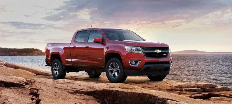 Updated With Pricing and Colors - 2015 Chevrolet Colorado Z71 Brings Cool Style, Big Power 17