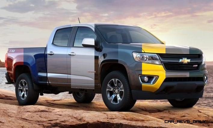 Updated With Pricing and Colors - 2015 Chevrolet Colorado Z71 Brings Cool Style, Big Power 17_001-horz