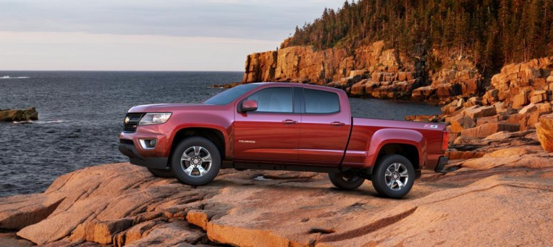 Updated With Pricing and Colors - 2015 Chevrolet Colorado Z71 Brings Cool Style, Big Power 18
