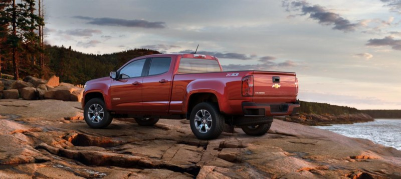 Updated With Pricing and Colors - 2015 Chevrolet Colorado Z71 Brings Cool Style, Big Power 19