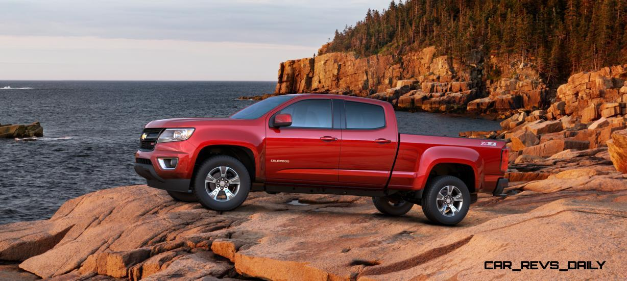 Updated With Pricing and Colors - 2015 Chevrolet Colorado Z71 Brings Cool Style, Big Power 2