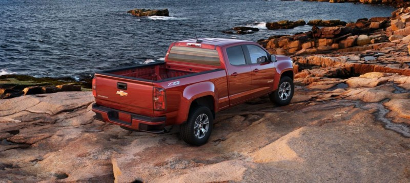 Updated With Pricing and Colors - 2015 Chevrolet Colorado Z71 Brings Cool Style, Big Power 20