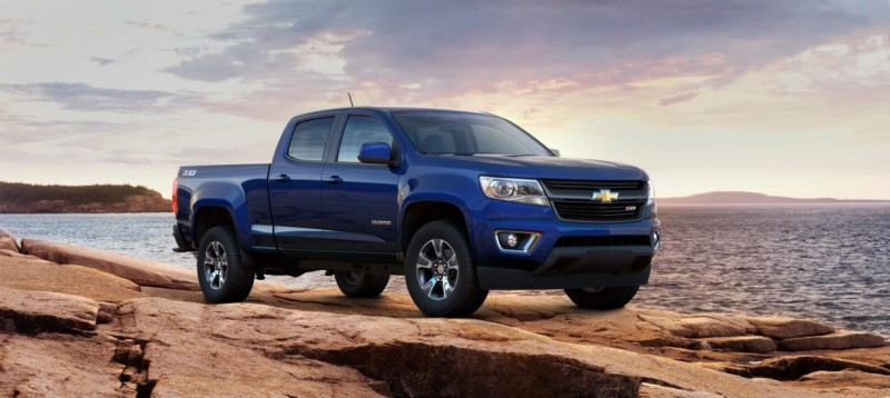Updated With Pricing and Colors - 2015 Chevrolet Colorado Z71 Brings Cool Style, Big Power 21