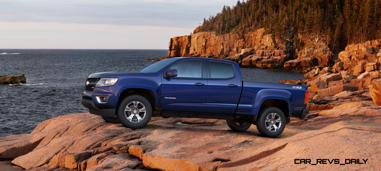 Updated With Pricing and Colors - 2015 Chevrolet Colorado Z71 Brings Cool Style, Big Power 22