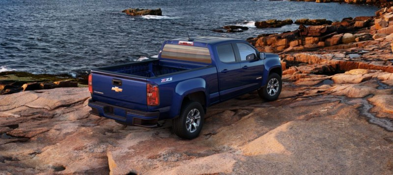 Updated With Pricing and Colors - 2015 Chevrolet Colorado Z71 Brings Cool Style, Big Power 24