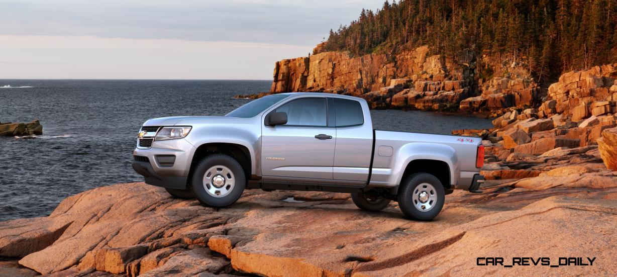 Updated With Pricing and Colors - 2015 Chevrolet Colorado Z71 Brings Cool Style, Big Power 26