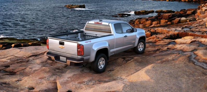 Updated With Pricing and Colors - 2015 Chevrolet Colorado Z71 Brings Cool Style, Big Power 28