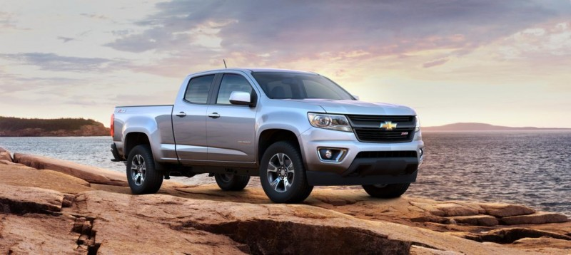 Updated With Pricing and Colors - 2015 Chevrolet Colorado Z71 Brings Cool Style, Big Power 29