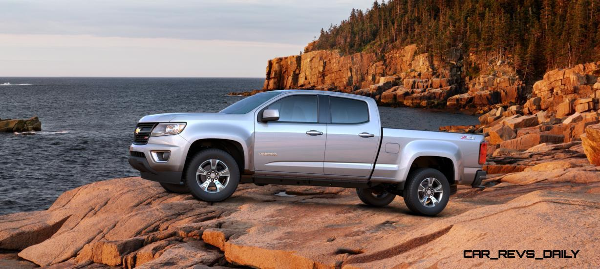 Updated With Pricing and Colors - 2015 Chevrolet Colorado Z71 Brings Cool Style, Big Power 30