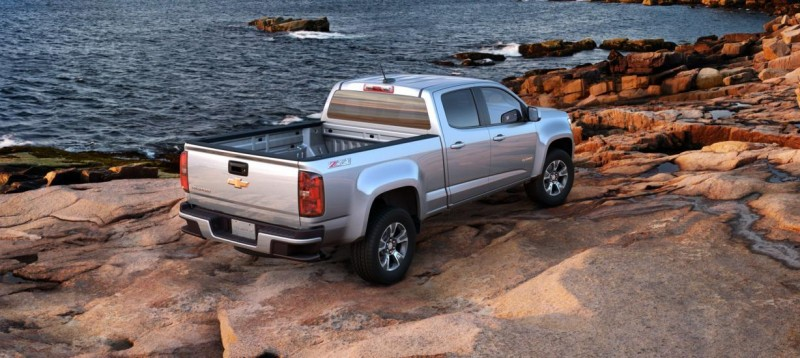 Updated With Pricing and Colors - 2015 Chevrolet Colorado Z71 Brings Cool Style, Big Power 32