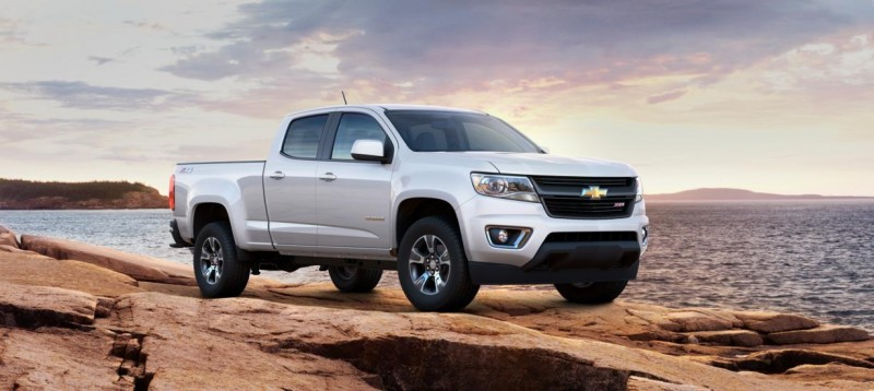 Updated With Pricing and Colors - 2015 Chevrolet Colorado Z71 Brings Cool Style, Big Power 33