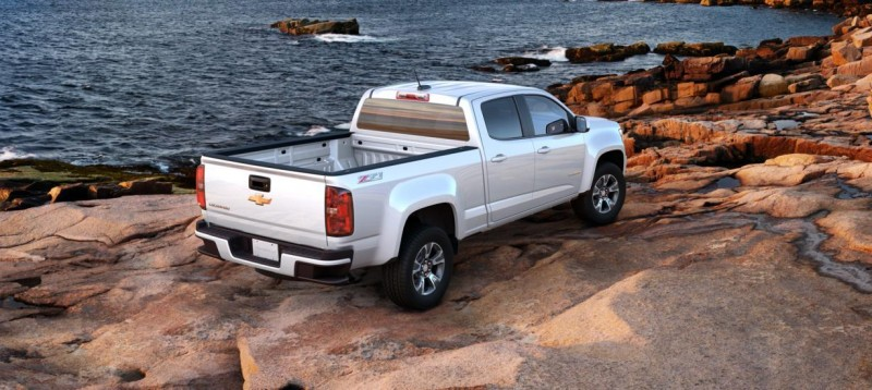 Updated With Pricing and Colors - 2015 Chevrolet Colorado Z71 Brings Cool Style, Big Power 36