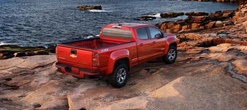 Updated With Pricing and Colors - 2015 Chevrolet Colorado Z71 Brings Cool Style, Big Power 4