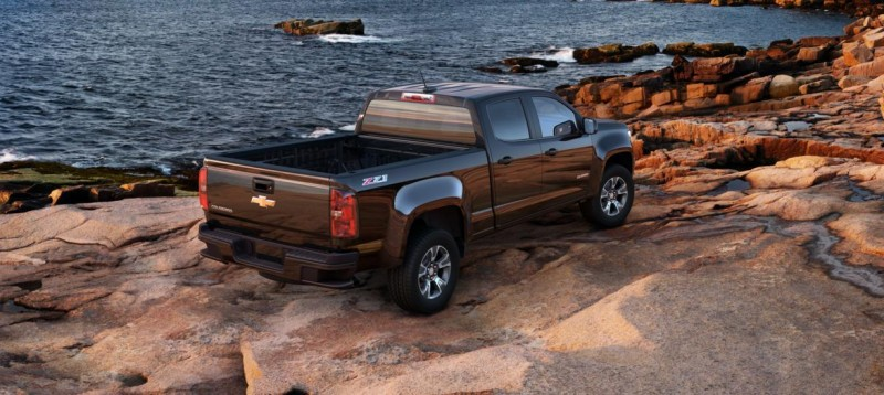 Updated With Pricing and Colors - 2015 Chevrolet Colorado Z71 Brings Cool Style, Big Power 40