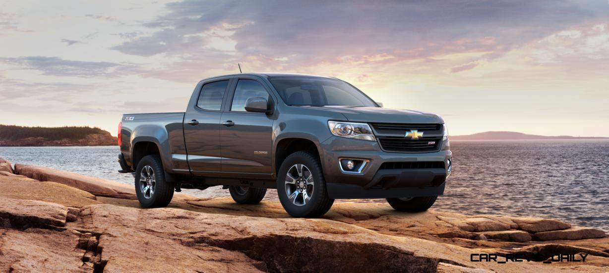 updated with pricing and colors 2015 chevrolet colorado z71 brings cool style big power. Black Bedroom Furniture Sets. Home Design Ideas