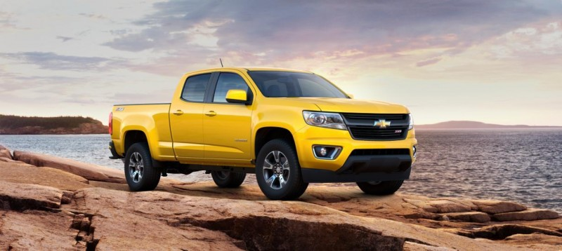 Updated With Pricing and Colors - 2015 Chevrolet Colorado Z71 Brings Cool Style, Big Power 45