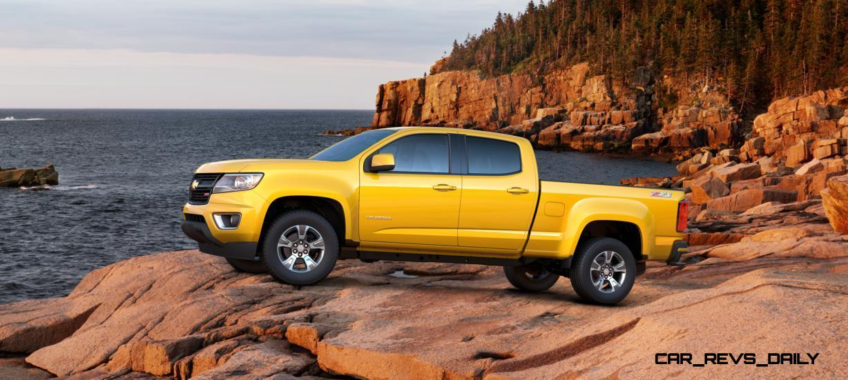 Updated With Pricing and Colors - 2015 Chevrolet Colorado Z71 Brings Cool Style, Big Power 46
