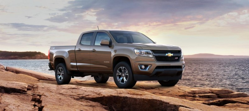 Updated With Pricing and Colors - 2015 Chevrolet Colorado Z71 Brings Cool Style, Big Power 49