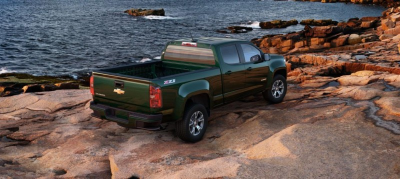 Updated With Pricing and Colors - 2015 Chevrolet Colorado Z71 Brings Cool Style, Big Power 8