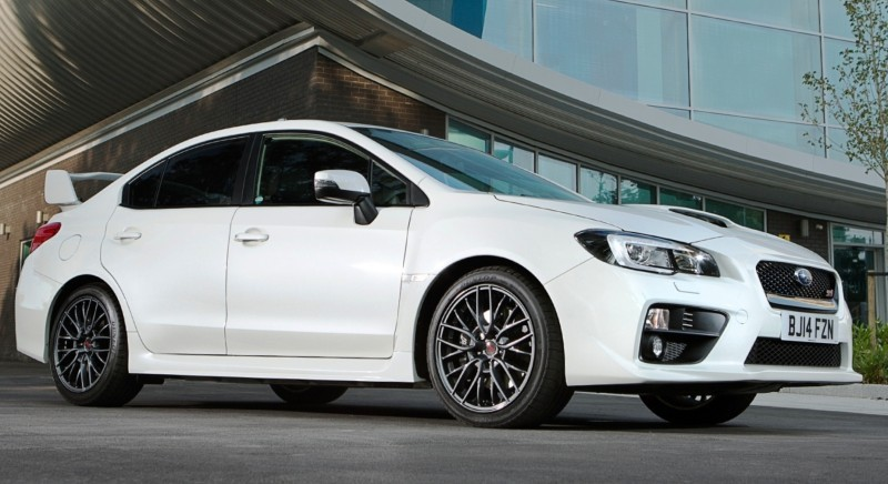 Updated with 20 Sexy New Photos - Track Test Review - 2015 Subaru WRX STI 1