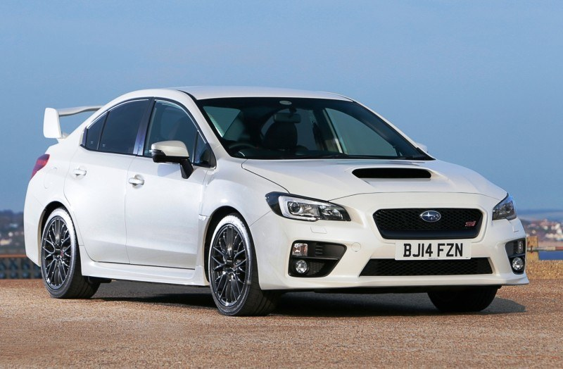 Updated with 20 Sexy New Photos - Track Test Review - 2015 Subaru WRX STI 2