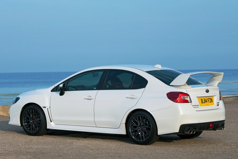 Updated with 20 Sexy New Photos - Track Test Review - 2015 Subaru WRX STI 4