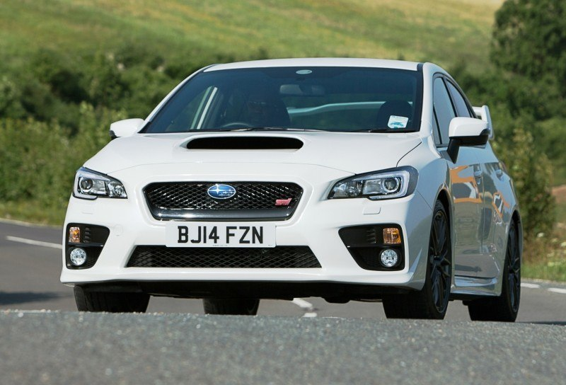 Updated with 20 Sexy New Photos - Track Test Review - 2015 Subaru WRX STI 6