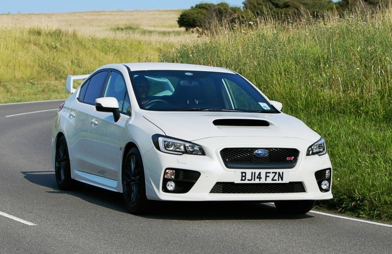 Updated with 20 Sexy New Photos - Track Test Review - 2015 Subaru WRX STI 7