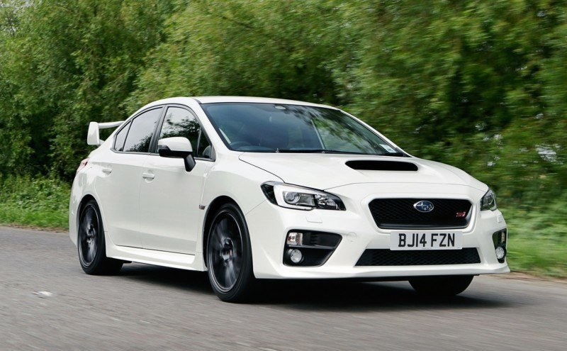 Updated with 20 Sexy New Photos - Track Test Review - 2015 Subaru WRX STI 8