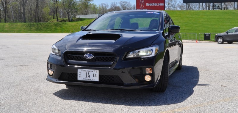 Updated with 37 High-Res Photos - Track Review - 2015 Subaru WRX Automatic 1