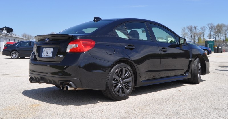 Updated with 37 High-Res Photos - Track Review - 2015 Subaru WRX Automatic 13