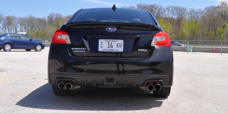 Updated with 37 High-Res Photos - Track Review - 2015 Subaru WRX Automatic 16