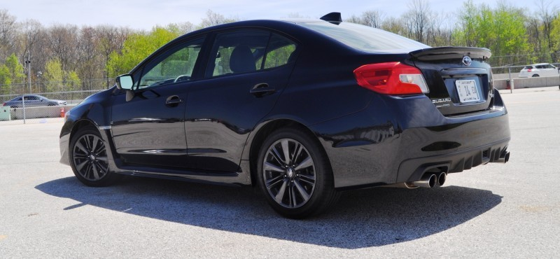 Updated with 37 High-Res Photos - Track Review - 2015 Subaru WRX Automatic 20