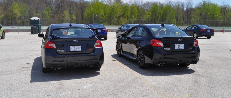 Updated with 37 High-Res Photos - Track Review - 2015 Subaru WRX Automatic 21